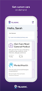 Teladoc | Online Doctors, Therapy & Nutrition 4.7 Screenshots 10
