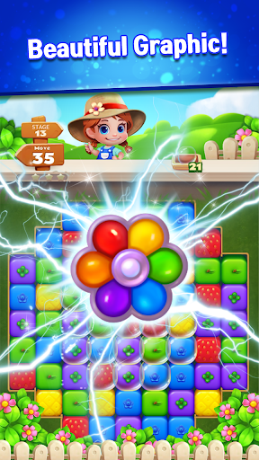 Sweet Garden Blast Puzzle Game 1.3.9 screenshots 5