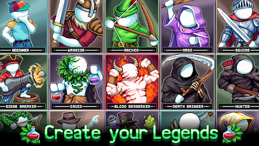 Legends of Idleon -- Idle MMO apklade screenshots 1