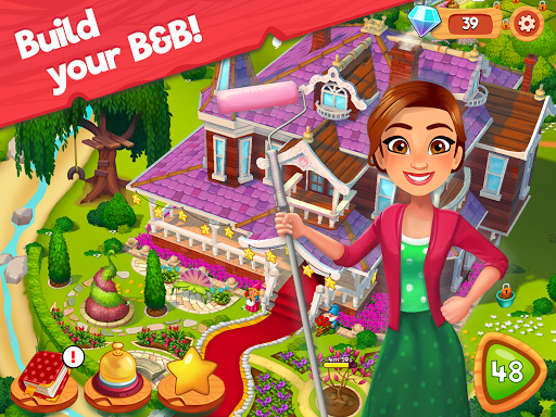 Delicious B&B: Match 3 game & Interactive story 1.17.10 screenshots 8