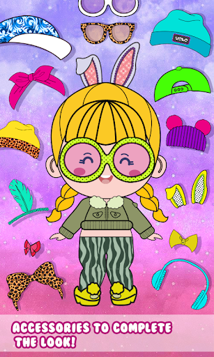 Chibbi dress up : Doll makeup games for girls 1.0.2 screenshots 12