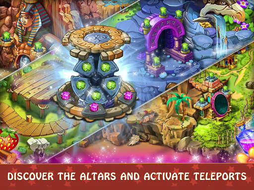 Magica Travel Agency - Match 3 Puzzle Game 1.2.9 screenshots 14