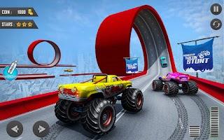 Mega Ramp Car Stunts Game