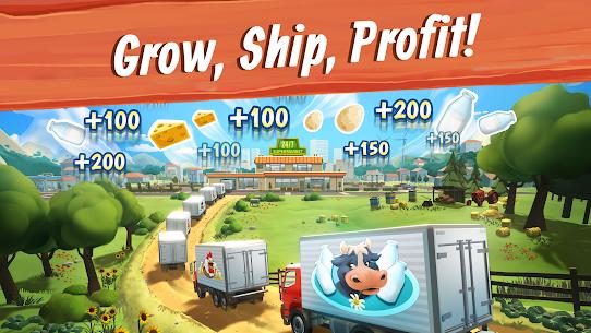 Big Farm  Mobile Harvest – Free Farming Game Apk Download NEW 2021 5