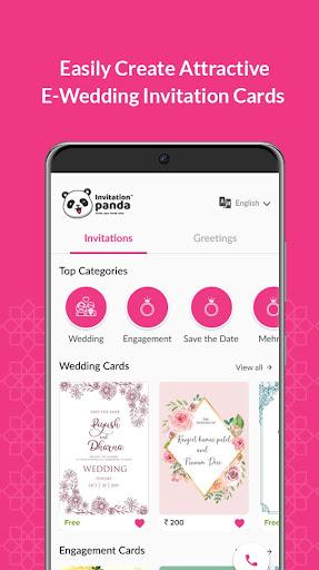 Shaadi & Engagement Card Maker by Invitation Panda 2.0.22 Screenshots 3