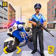 Police Moto Bike Chase – Free Shooting Games MOD APK 2.0.12 (Free Shopping)