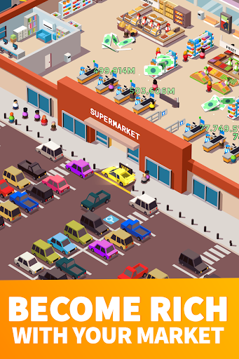 Idle Supermarket Tycoon - Tiny Shop Game 2.3.1 screenshots 2