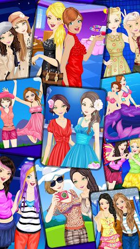 Best Friends Dressup for Girls - Free BFF Fashion apktreat screenshots 1