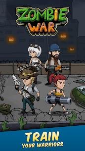 Zombie War: Idle Defense Game Mod Apk (Unlimited Money + No Ads) 5 5