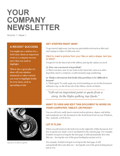 Free Email Newsletter Templates  screenshots 10