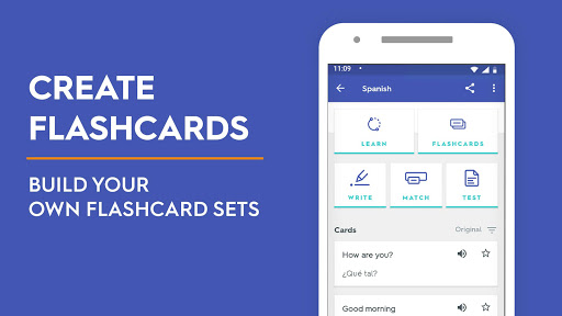 Quizlet: Learn Languages & Vocab with Flashcards screen 1