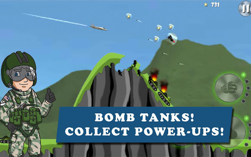 Code Triche Carpet Bombing APK Mod screenshots 1