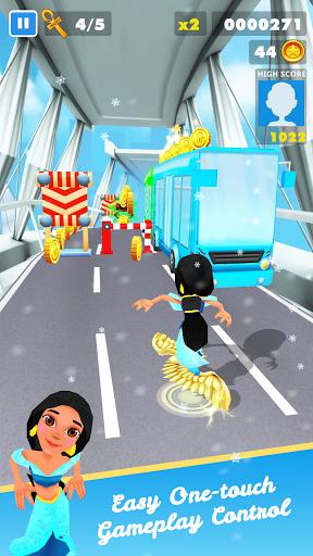 Subway Princess Runner Surf apklade screenshots 2