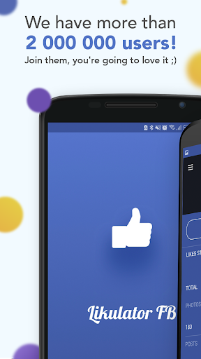 Likulator - likes counter for Facebook  screenshots 1