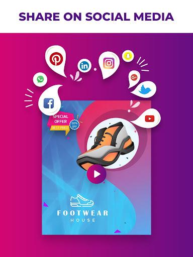 Video Flyers - Flyer Maker, Make Poster, Video Ads 21.0 Screenshots 14