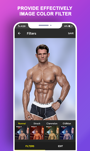 Body Builder Photo Suit (Six pack abs editor) android2mod screenshots 7