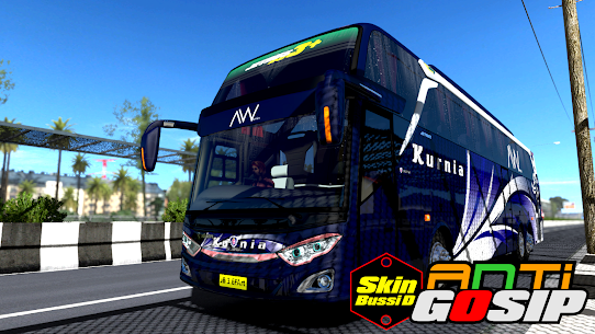 Mod Truck Canter Anti Gosip BUSSID 1