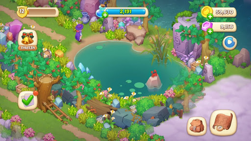 Magicabin: Home Design & Colorful adventure 1.3.4 screenshots 7