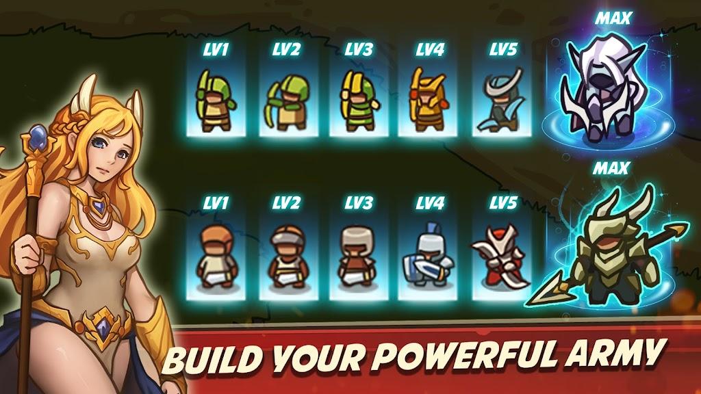 Empire Warriors Premium: Tower Defense Games poster 2