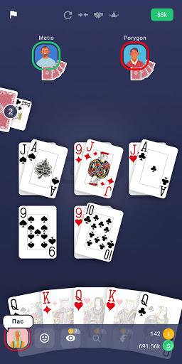 Durak - Classic Card Game apkpoly screenshots 8