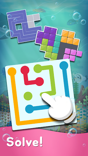 My Little Aquarium - Free Puzzle Game Collection 75 screenshots 11