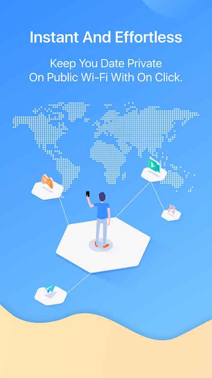 FlyVPN - Secure & Fast VPN poster 1
