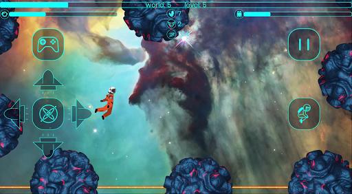 Code Triche Astronaut Stickman in a Space Jetpack Simulator APK MOD (Astuce) screenshots 2