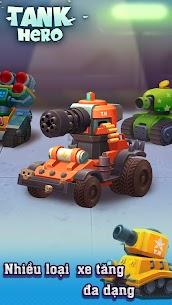 Xe tăng – Cuộc chiến bắt đầu Ver 1.7.6 MOD APK   God Mode – Tank Hero – Fun and addicting game 1