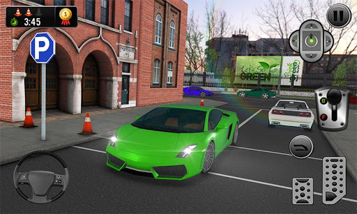 Multi-storey Sports Car Parking Simulator 2019  screenshots 2