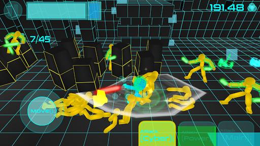 Stickman Neon Warriors: Sword Fighting screenshots 2