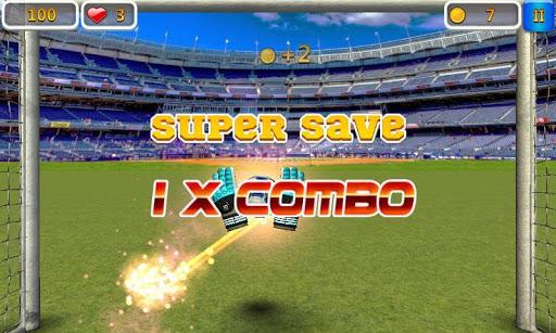 Super Goalkeeper - Soccer Game screenshots 1