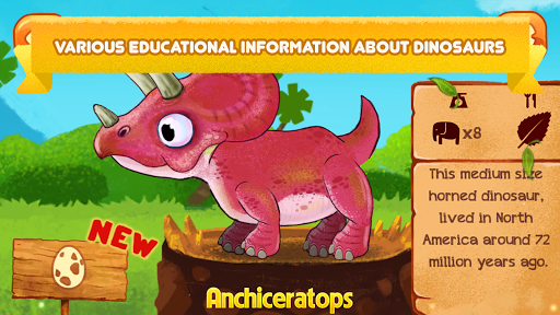 Vkids Dinosaurs: Jurassic World captures d'écran apk mod pirater preuve 2