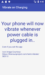 Vibrate on Charging start-wireless/wired charger 9.0 (Paid)