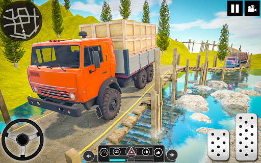 Log Transporter Truck Driving : Truck Games 2021 screenshots 20