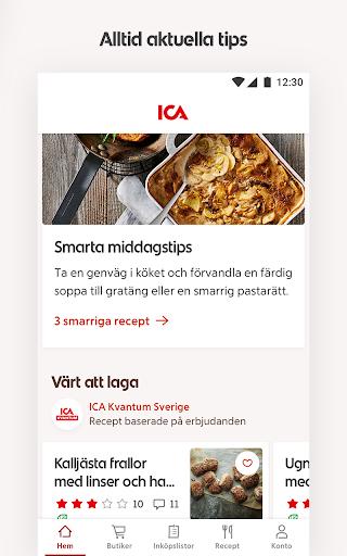 ICA – recept, erbjudanden och inköpslista  screenshots 3