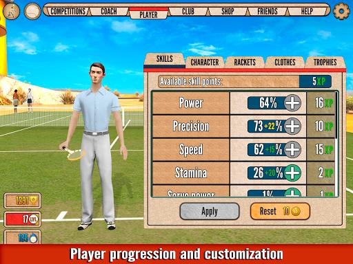 World of Tennis: Roaring u201920s u2014 online sports game  screenshots 19