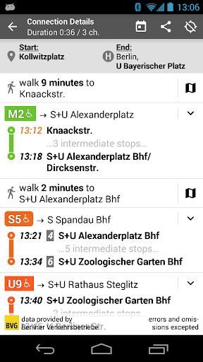Offi - Journey Planner  screenshots 4