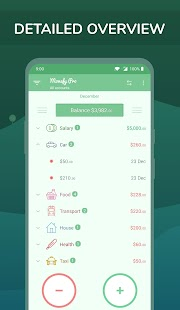 Monefy Pro - Budget Manager and Expense Tracker Screenshot