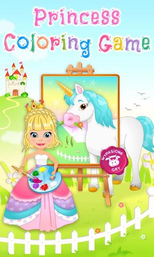 Princess Coloring Game screenshots 15