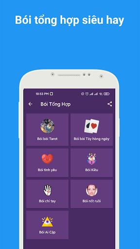 Tu1eed vi 2021 - Xem tu vi hang ngay , xem boi tarot android2mod screenshots 4