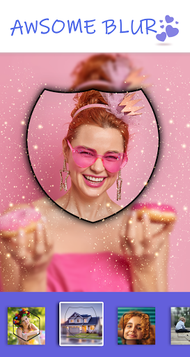 Selfie Snap Camera Effects: Photo Editor, Stickers 1.0.10 screenshots 1