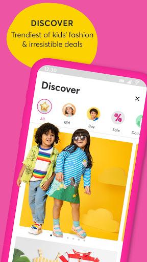 Hopscotch - India's largest kids fashion brand android2mod screenshots 1