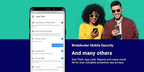 Bitdefender Mobile Security & Antivirus Mod Apk (6 Month Free License) 7