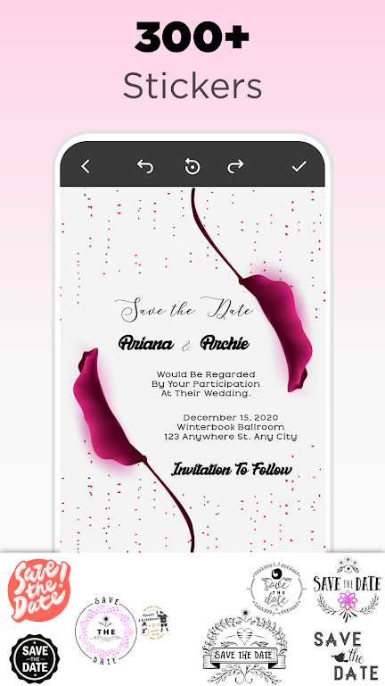 Invitation Maker - Birthday & Wedding Card Design poster 20