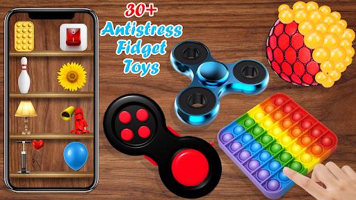Fidget Toys 3D popop it bubble pops anti anxiety  screenshots 1