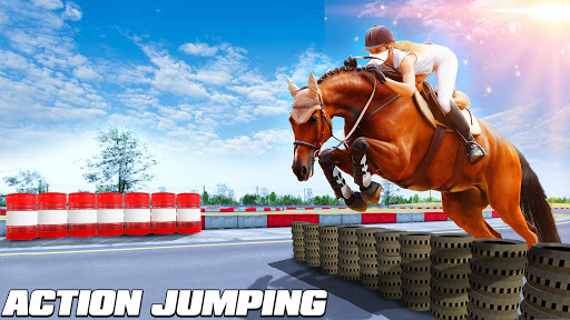 Horse Riding Simulator 3D : Jockey Mobile Game apktram screenshots 7