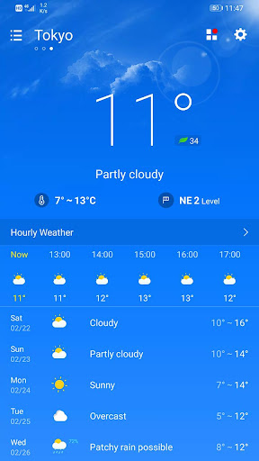 Weather Forecast 2.3.37 Screenshots 1
