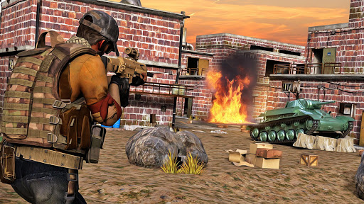 Army shooter Games : Real Commando Games modiapk screenshots 1