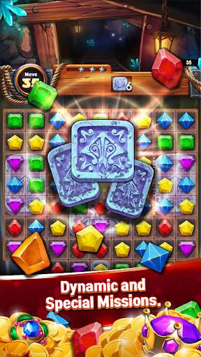 Jewels Cave Crush: Match 3 Puzzle screenshots 2