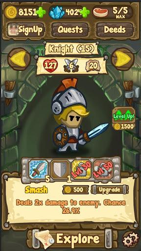 Télécharger Dungeon Loot - dungeon crawler APK MOD 2